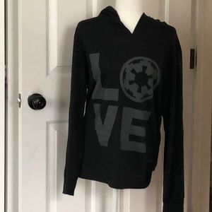 Her Universe Imperial love Star Wars hooded shirt